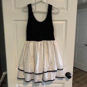 Necessary Objects Black & White Dress